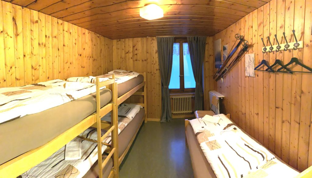 Chambres à 5 lits